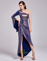 One Shoulder Asymmetrical High Low Cocktail Dresses With ...