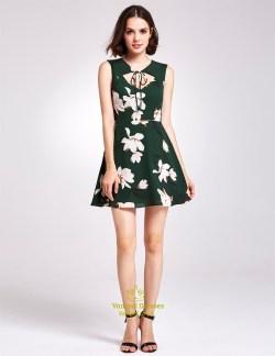 Small Of Dark Green Dress