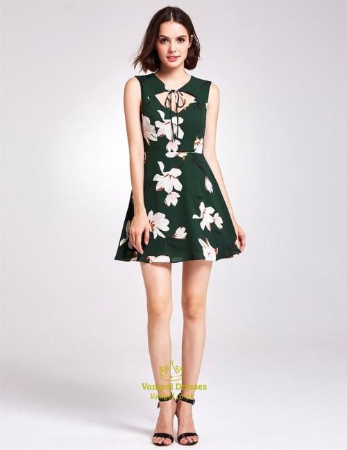Medium Of Dark Green Dress