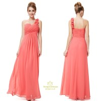 One Shoulder Chiffon Bridesmaid Dresses UK,One Shoulder ...