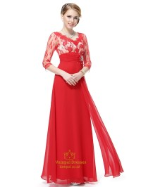 Red Mother Of The Groom Dresses With Jacket,Mother Of The ...