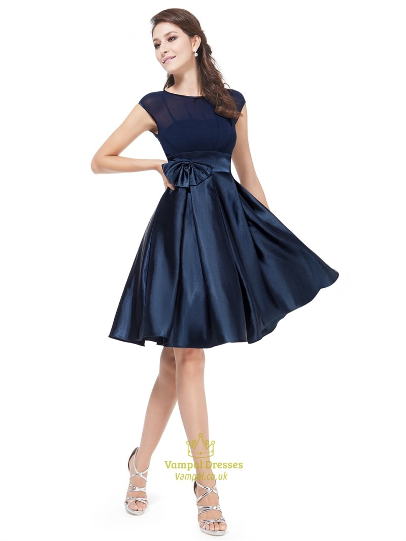 Large Of Navy Blue Cocktail Dress
