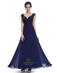 Navy Blue Lace Bridesmaid Dresses Uk - Discount Wedding ...