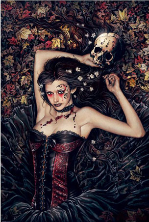 skull-girl-by-victoria-frances