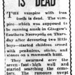 Vampire Crazed Children in 50′s Scotland Cause Widespread Panic