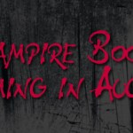 Vampire Books Coming August 2011