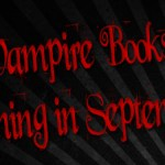 Vampire Books Coming September 2012