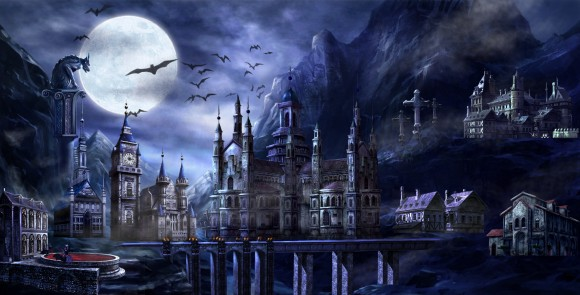 Vampire War castle