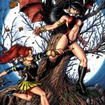 Vampirella vs. Fluffy the Vampire Killer