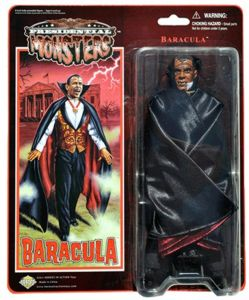 Presidential Monsters Action Figures  Baracula-1713856