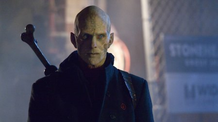 "THE STRAIN -- ""The Born"" Ep. 207 -- Pictured Rupert Penry-Jones as Quinlan. CR: Michael Gibson/FX"