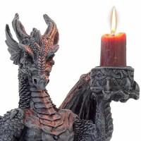 Vampires Kitchen - Nemesis Now Light Keeper Dragon Candle ...