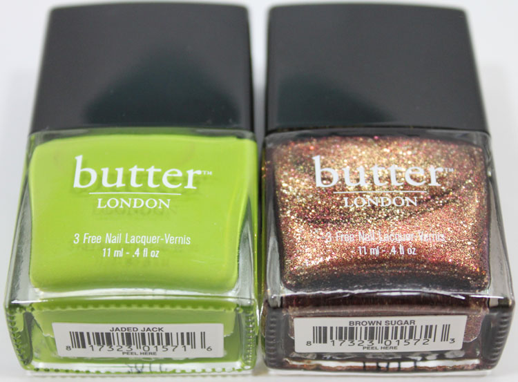 Butter London Jaded Jack And Brown Sugar Nail Lacquer