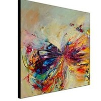 hand painted abstract animal oil painting pictures on ...