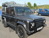 Land Rover Defender 110 Overland Aluminium Roof Rack Full ...