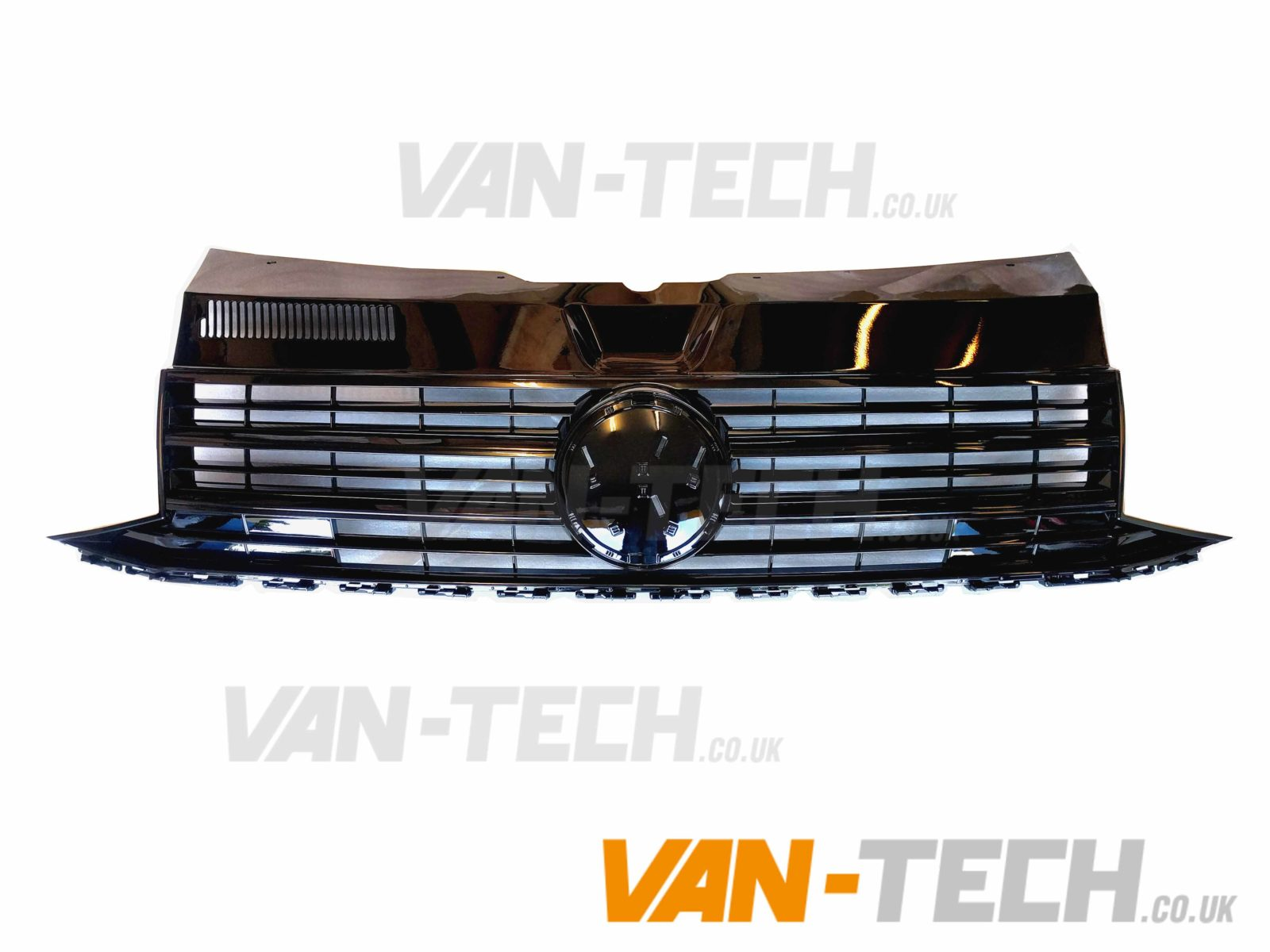Vw Transporter T6 Grille Gloss Black Badgeless