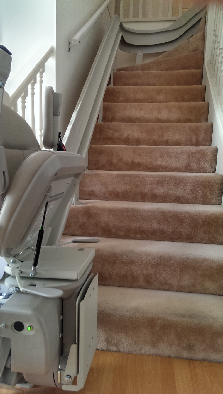 Bruno Cre Curved Vancouver Vancouver Stairlifts