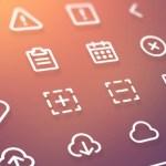 13-line-icons-freebie