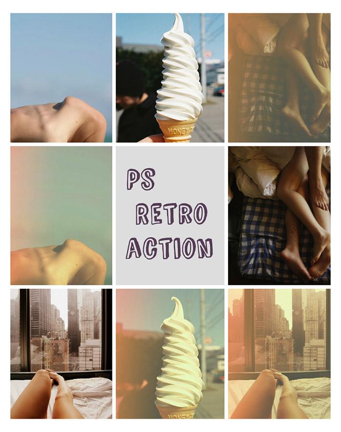 PS Retro Action