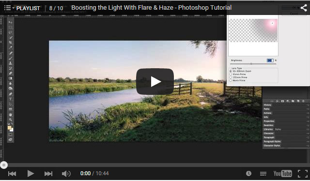 How to Enhance Light with Flare and Haze