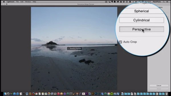 HDR and Panorama Merge in Lightroom
