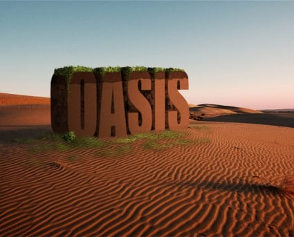 Create a 3D Text Scene Using Photoshop