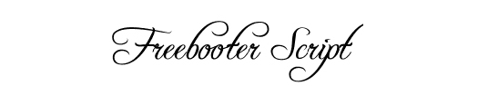 25 High-Quality Calligraphy Fonts