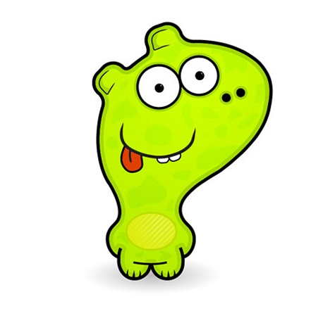 Create a Cute Vector Monster from a Pencil Sketch