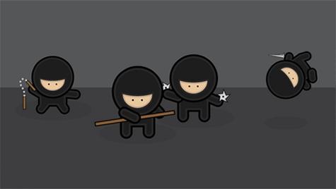 Illustrator  Tutorial - Create a Gang of Vector Ninjas
