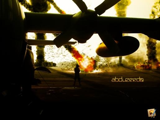 Fiery Fireballs in Pixelmator