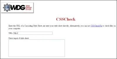 CSSCheck Screen Shot