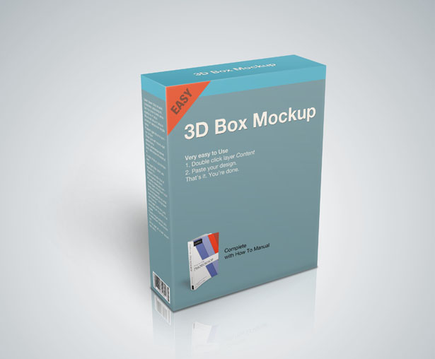 Product Box Mockup Psd Vandelay Design