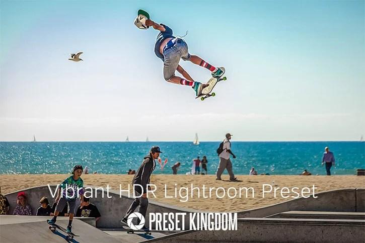 Vibrant HDR Lightroom Preset