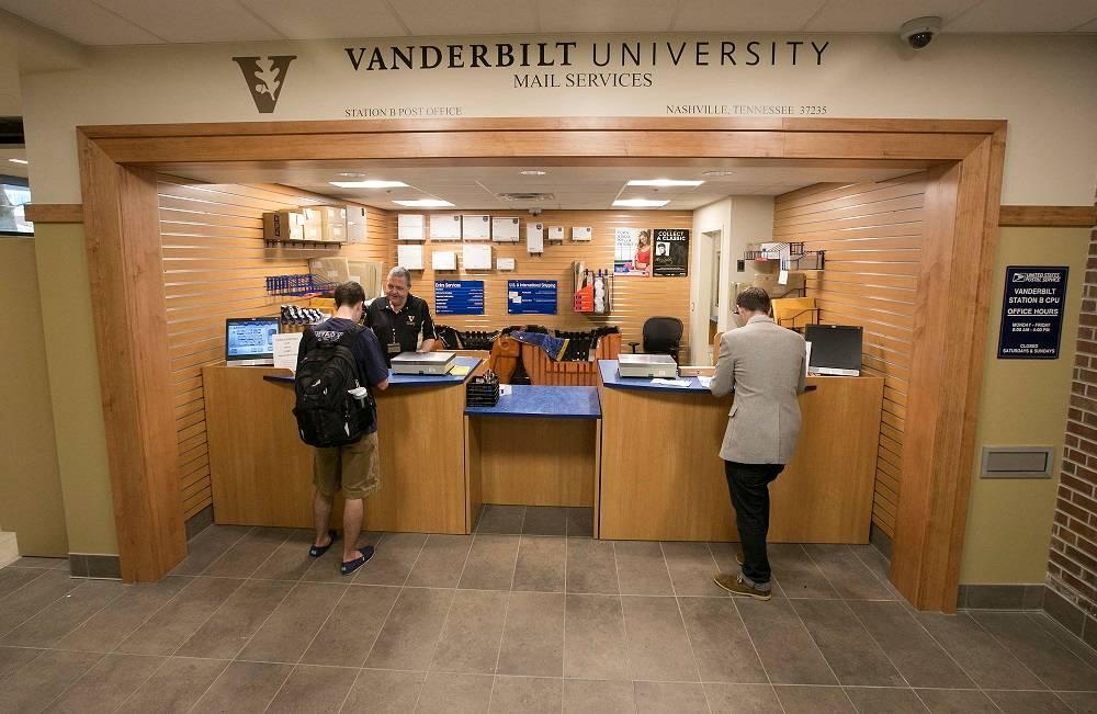Mail Services Vanderbilt University