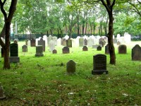 Old Burial Ground of the Flatlands Dutch Reformed Church In Brooklyn