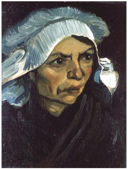 Wallpapers With Work Quotes Head Of A Peasant Woman With White Cap By Vincent Van Gogh