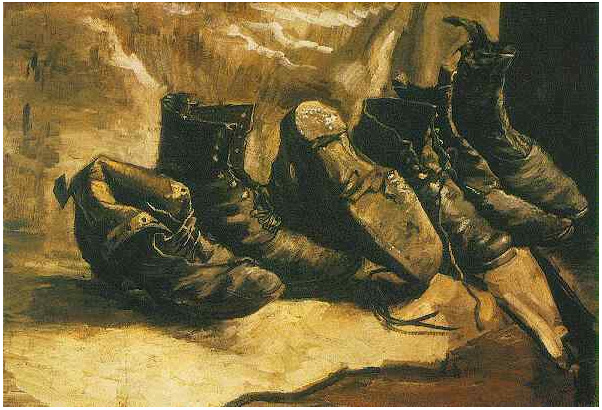 Poverty Wallpapers With Quotes Three Pairs Of Shoes By Vincent Van Gogh 616 Painting