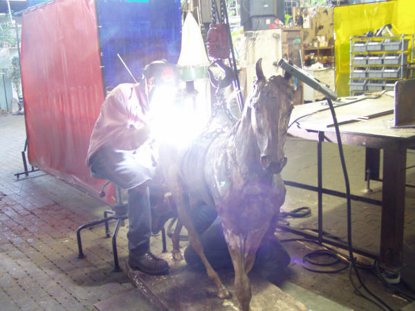 "Welding Alexa King's ""Steeple Chase"""