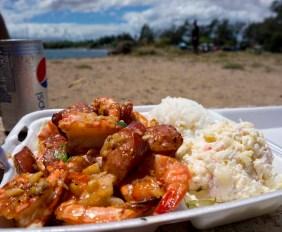 GESTE SHRIMP TRUCK – MAUI, HI – USA - Best shrimps in Maui