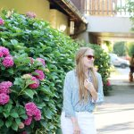 Outfit // Fair Fashion Sommerbluse mit Dogdays of Summer