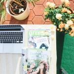 Lesestoff: Von einer kurzen Geschichte der Zeit und Green Lifestylebloggern.
