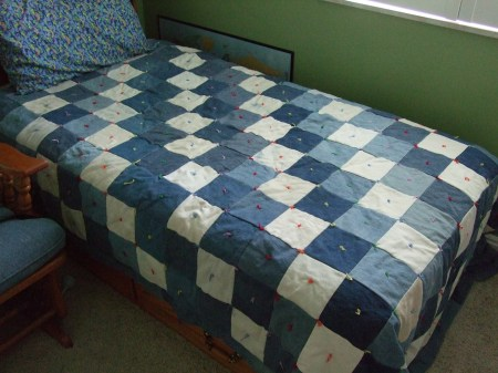 Quilts Out Of Jeans