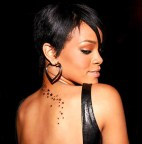 Rihanna Star Tattoo