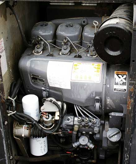 Lincoln Vantage 400 Diesel Engine Driven Welders; Miller