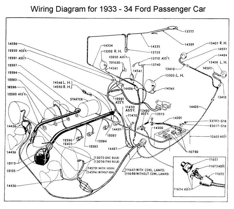 1932 Ford Wiring Diagram Wiring Diagram