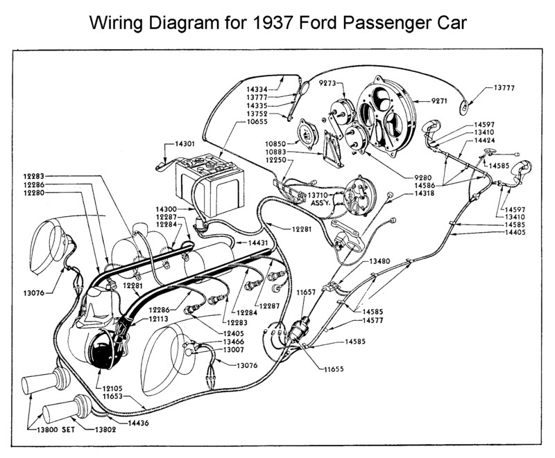 1937 chevy pickup wiring diagram