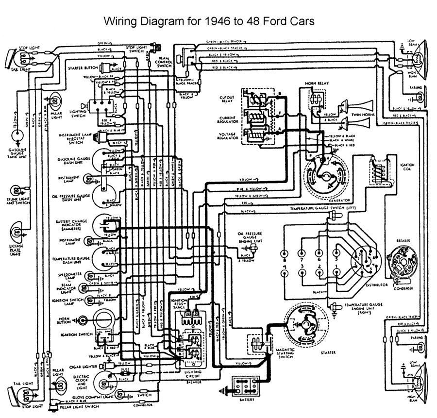 1942 Ford Wiring Diagram Wiring Diagram