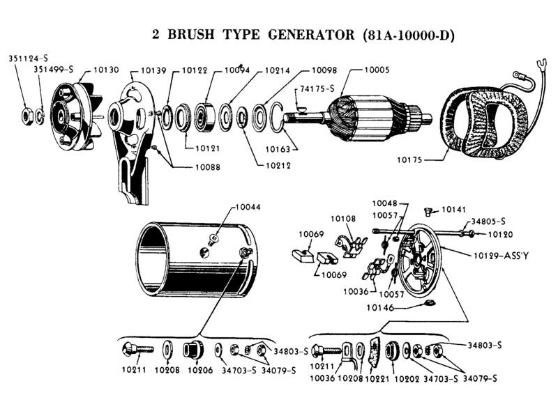 6 volt generator wiring diagram 1950 mercury