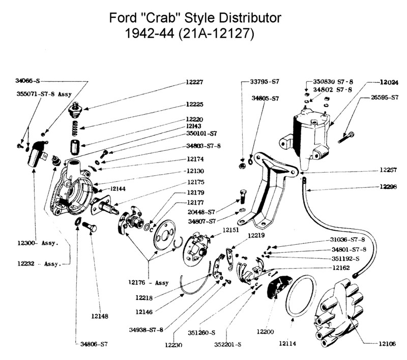 ford flathead v8 wiring diagram