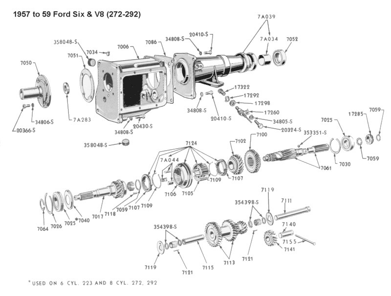 1955 ford f100 engine swap